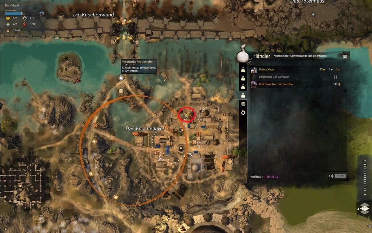 Guild Wars 2: Path of Fire Gebetslichter Fundort