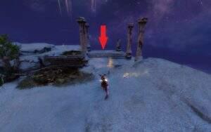 Guild Wars 2: Path of Fire Geriffeltes Küstengreifen-Ei Absprungort