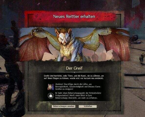 Guild Wars 2: Path of Fire Greif Guide