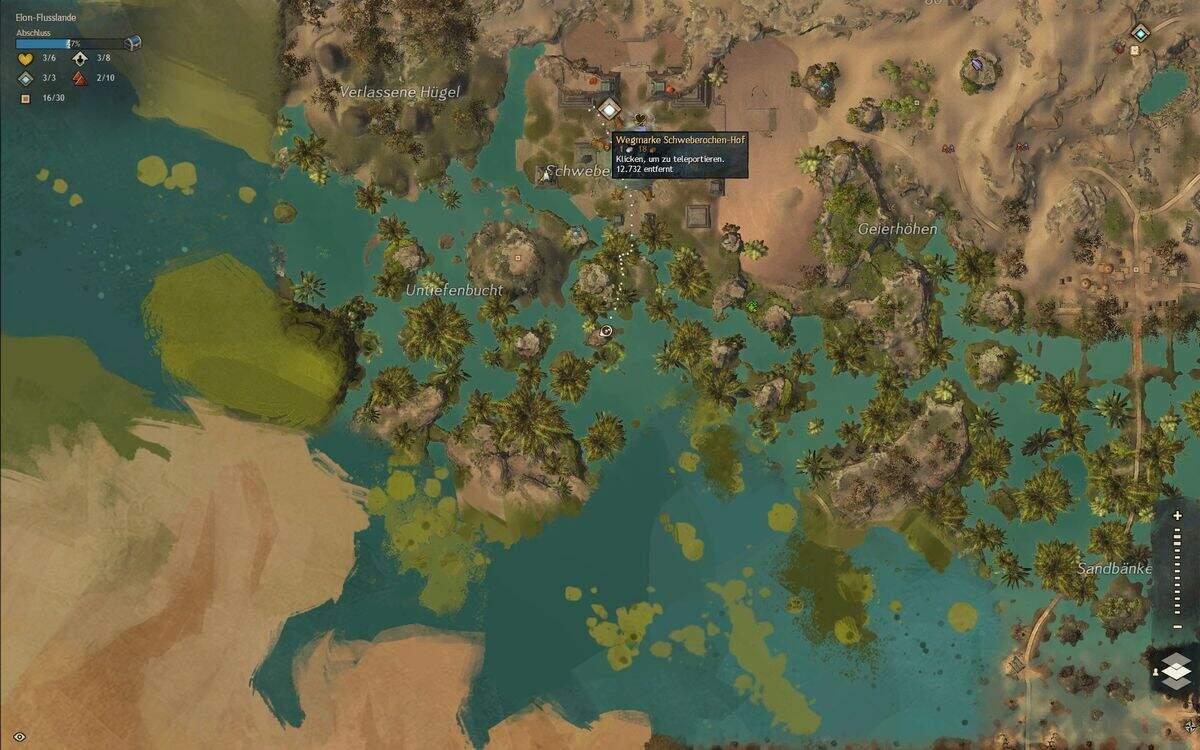 Guild Wars 2: Path of Fire Shadis Handschuhe Fundort