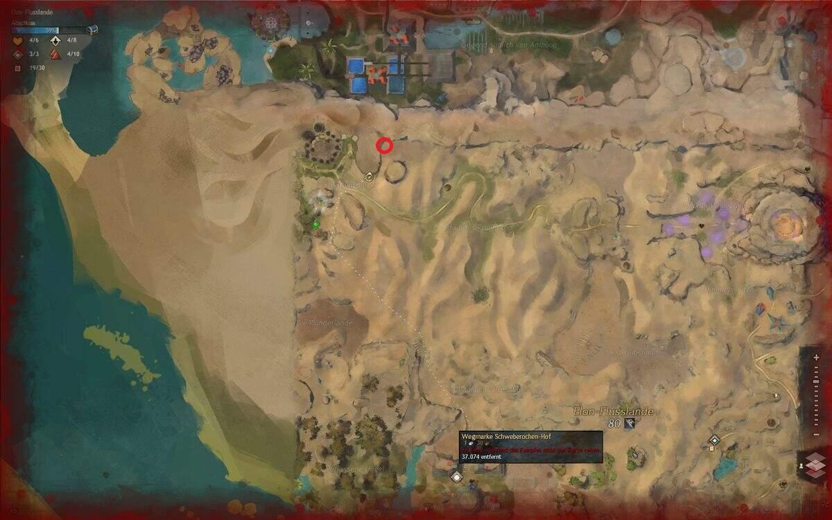 Guild Wars 2: Path of Fire Elon-Flusslande Shadis Schwert