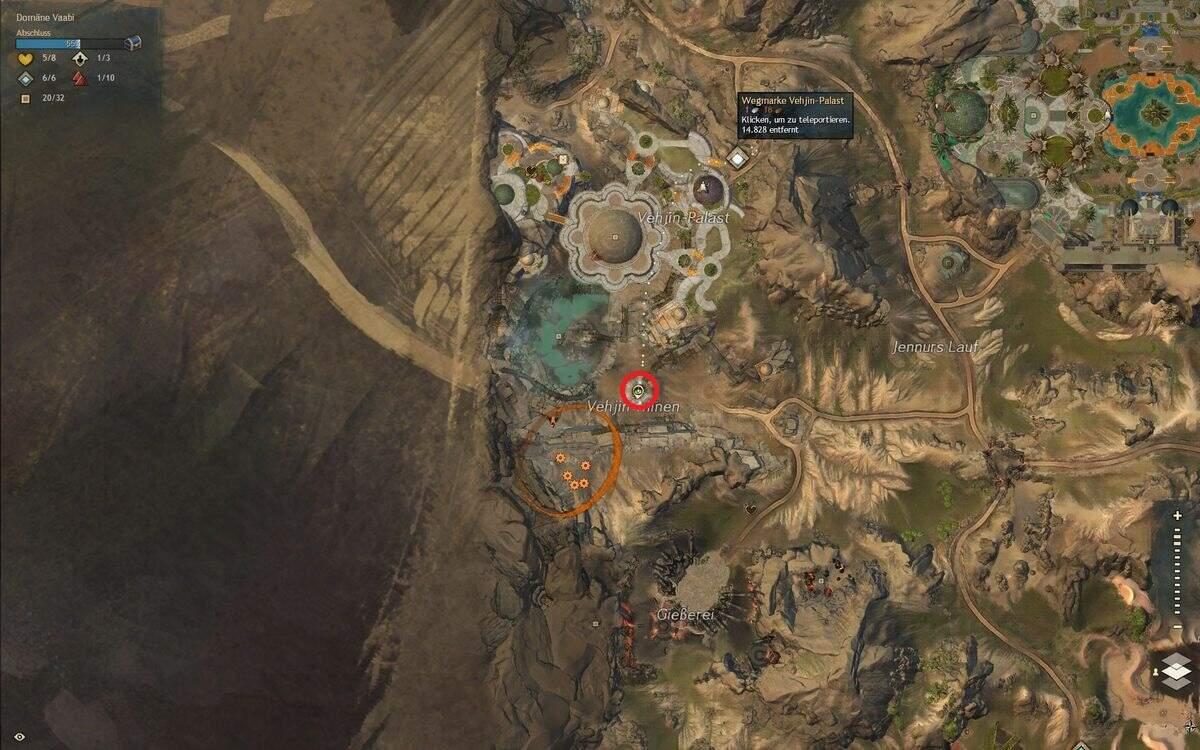 Guild Wars 2: Path of Fire Steinmetz-Werkzeug