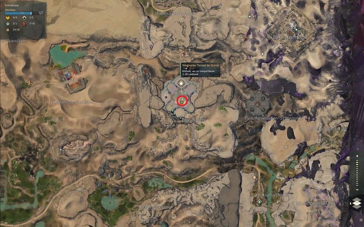 Guild Wars 2: Path of Fire Symbol der Göttin
