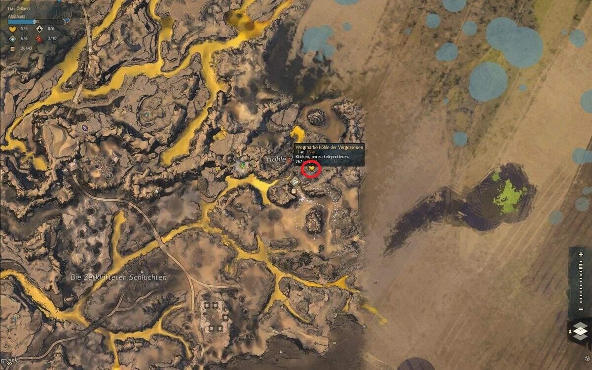 Guild Wars 2: Path of Fire Uralte Sonenspeer-Flaggen Fundort