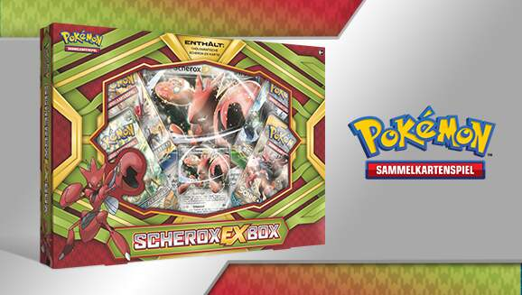 Pokémon Sammelkartenspiel Box