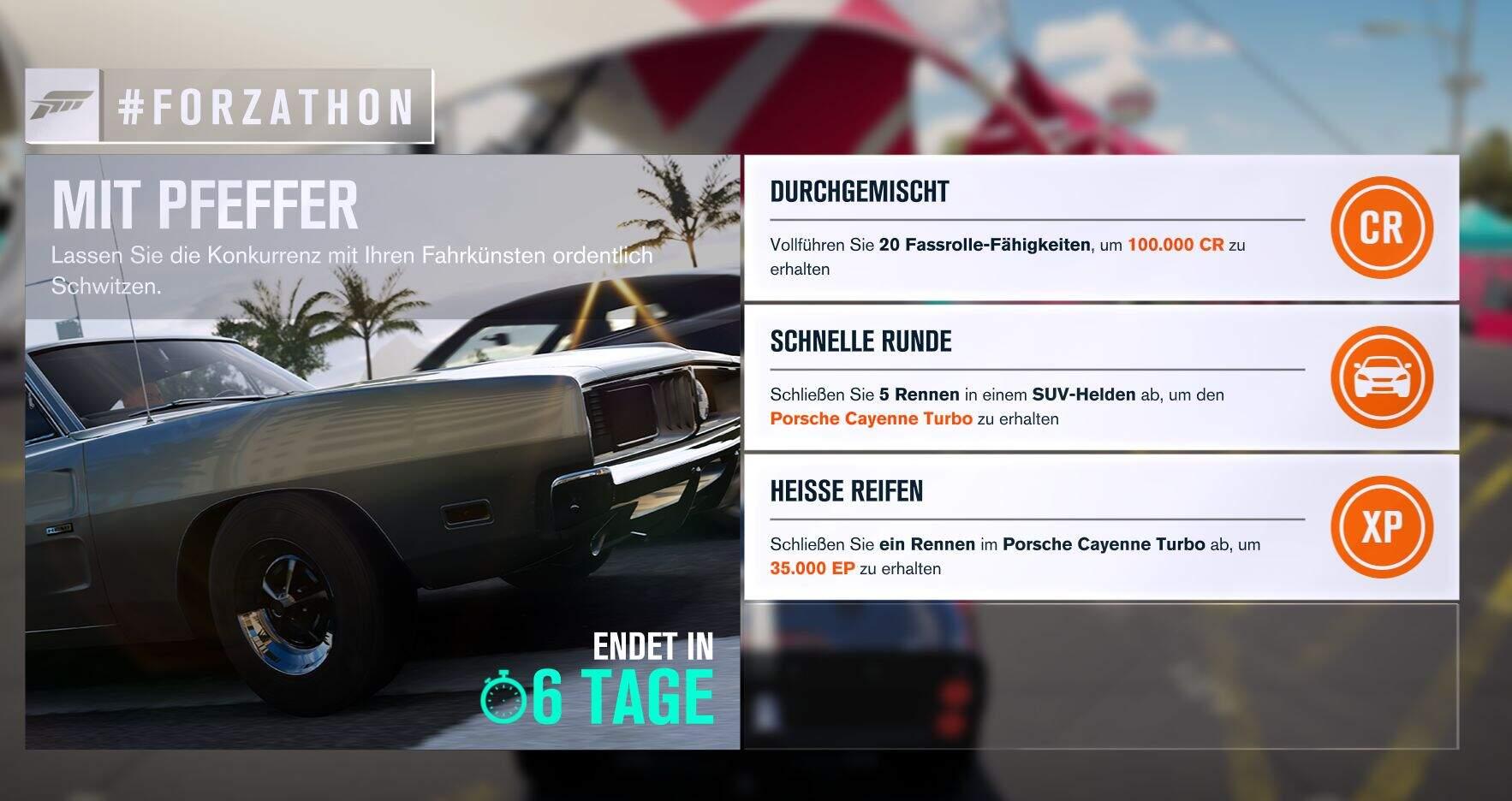 Forza Horizon 3 #Forzathon Guide KW 06 – Mit Pfeffer