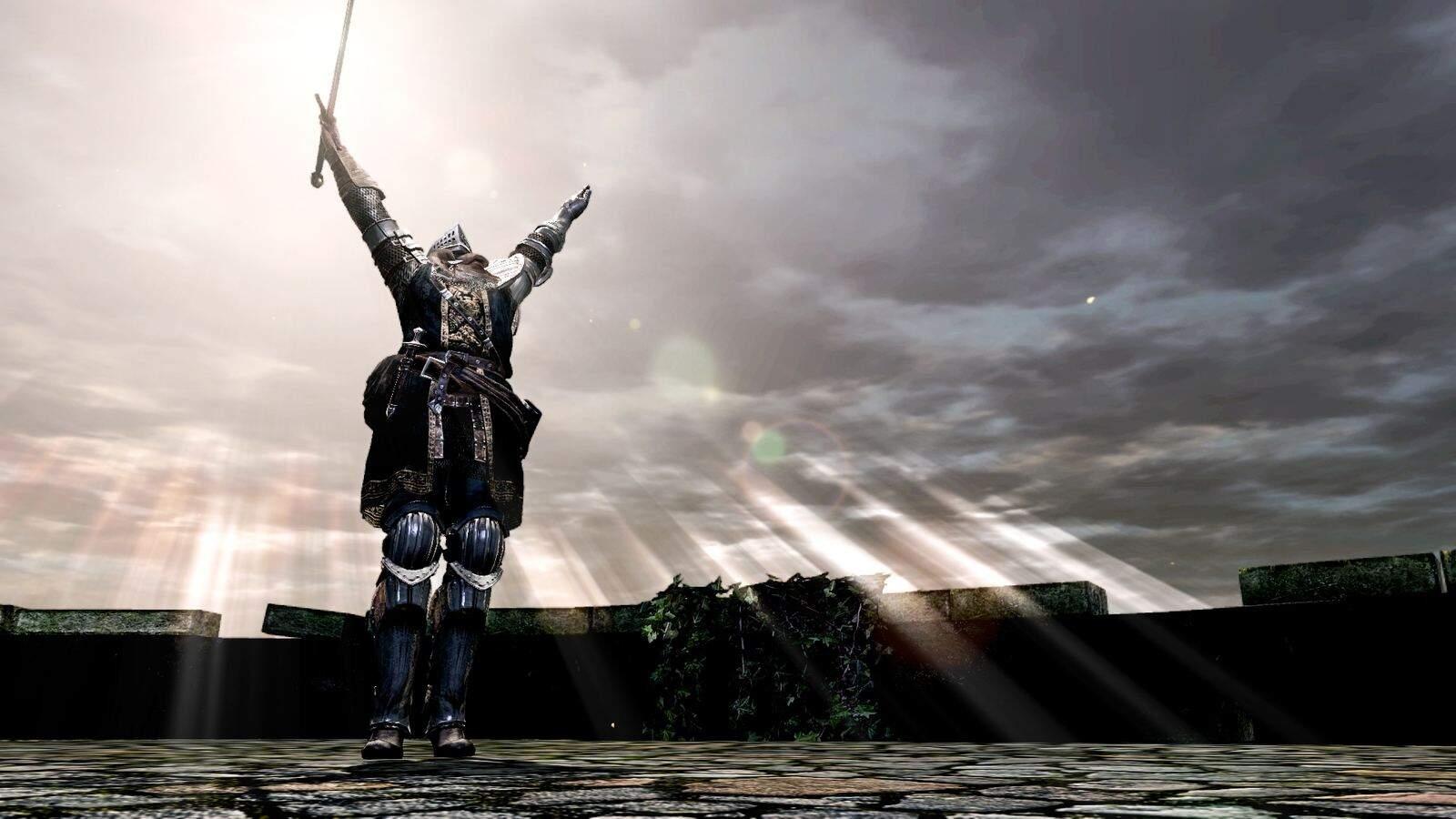 Dark Souls Praise the Sun Geste