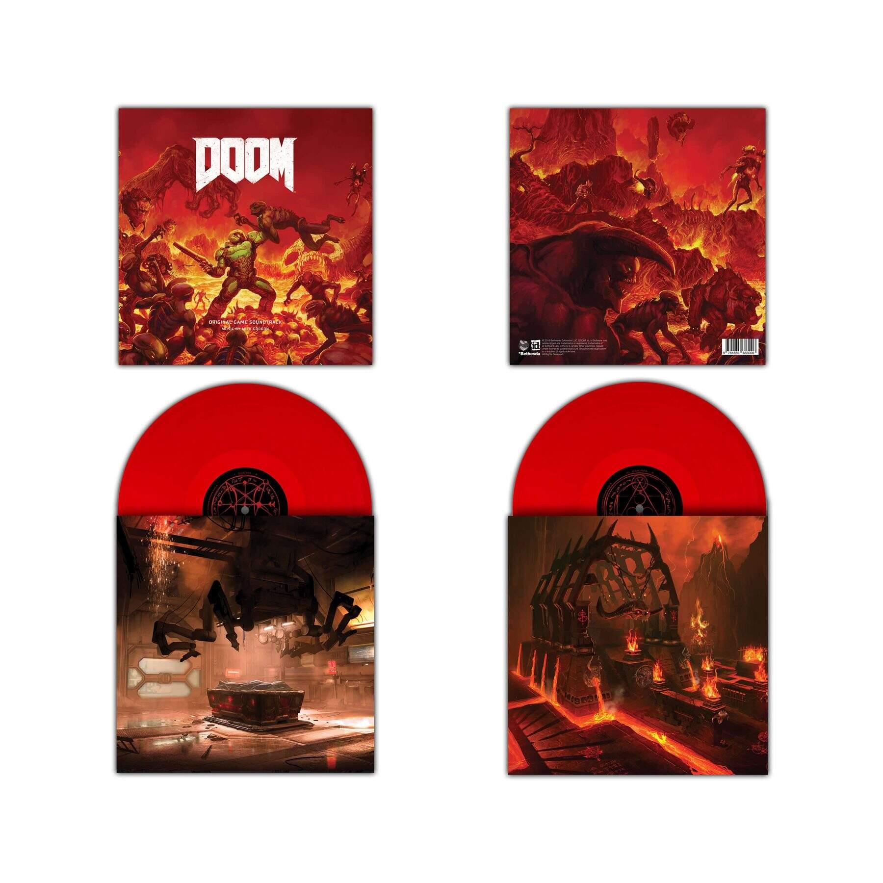 DOOM Soundtrack Colored Vinyl