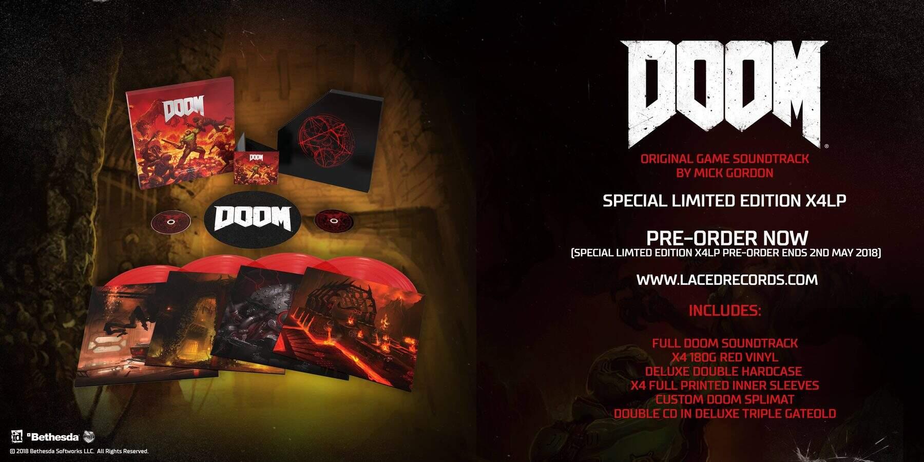 DOOM Soundtrack Vinyl