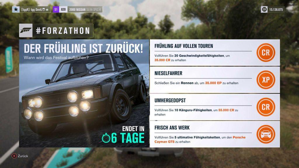 Forza Horizon 3 #Forzathon Guide KW 14 – Der Frühling ist zurück