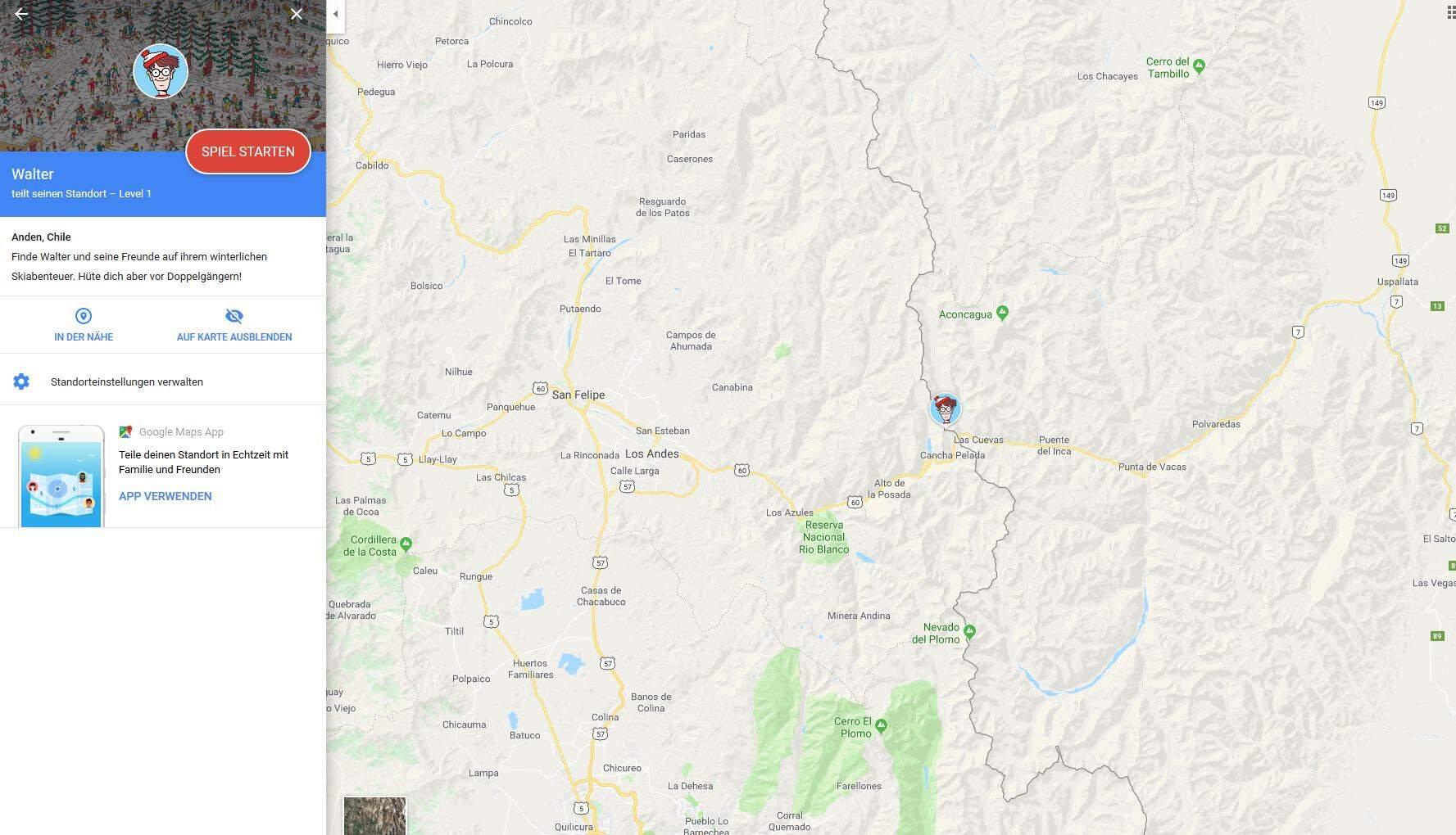 Google Maps Walter