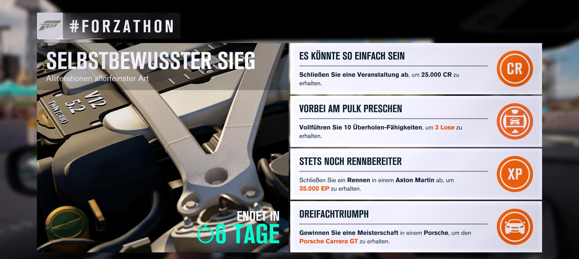 Forza Horizon 3 Forzathon KW 24 Selbstbewusster Sieg