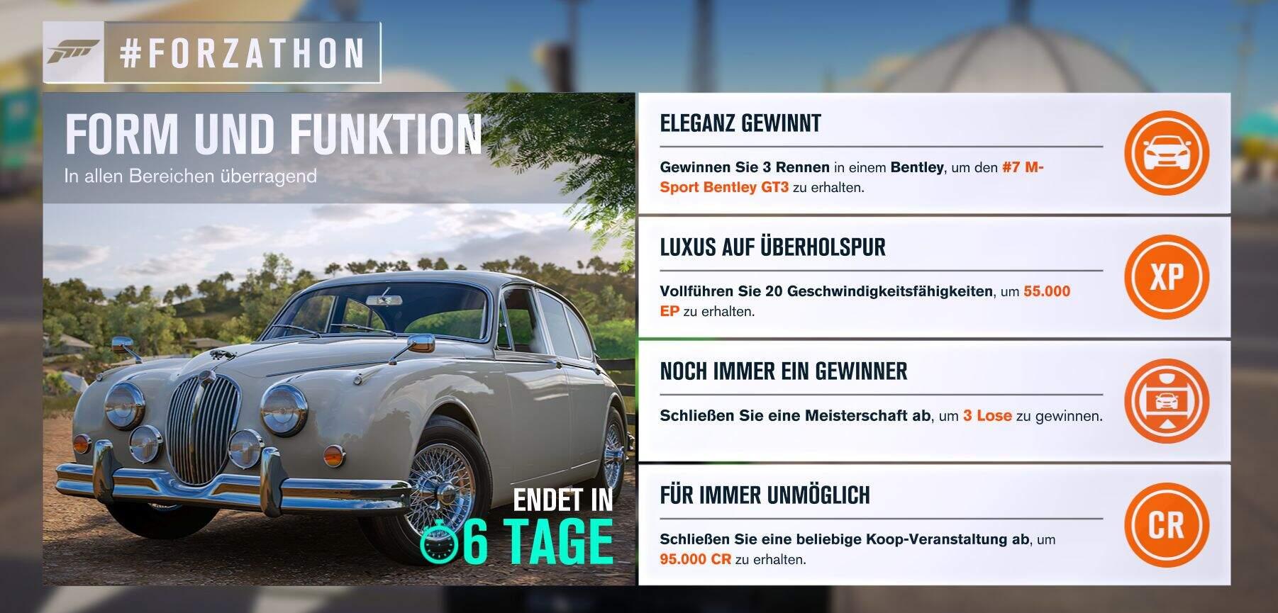 Forza Horizon 3 #Forzathon Guide KW 28 – Form und Funktion