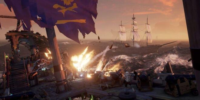 Sea of Thieves Cursed Sails