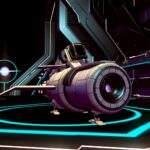 No Man's Sky Raumschiff mit Platz