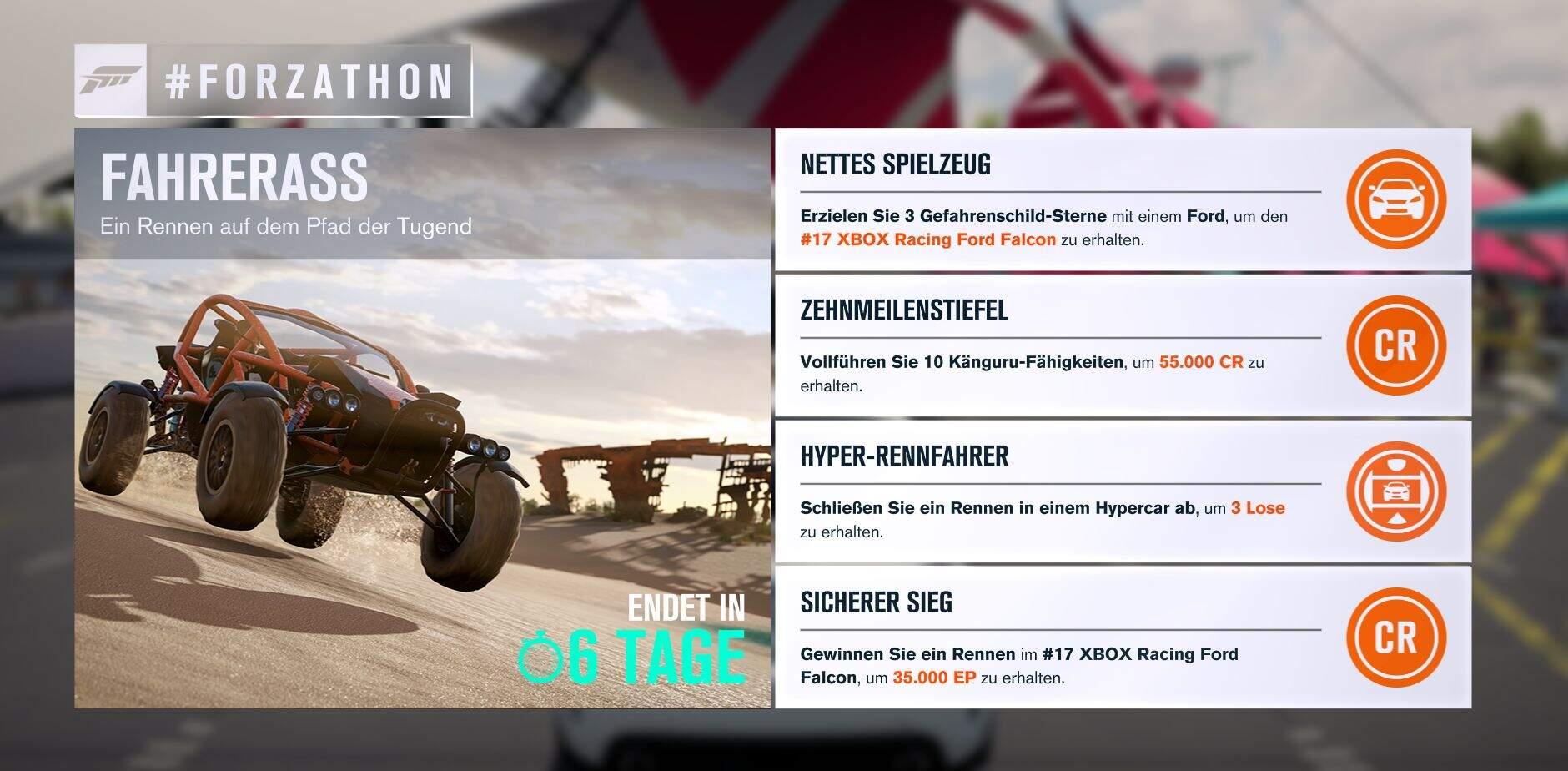 Forza Horizon 3 #Forzathon Guide KW 37 – Fahrerass