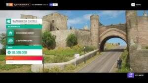 Forza Horizon 4 Bamburgh Castle Boni