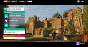 Forza Horizon 4 Fairlawn Manor Boni