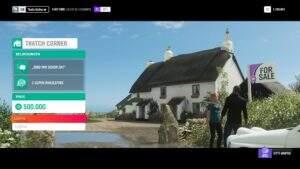 Forza Horizon 4 Thatch Corner Boni