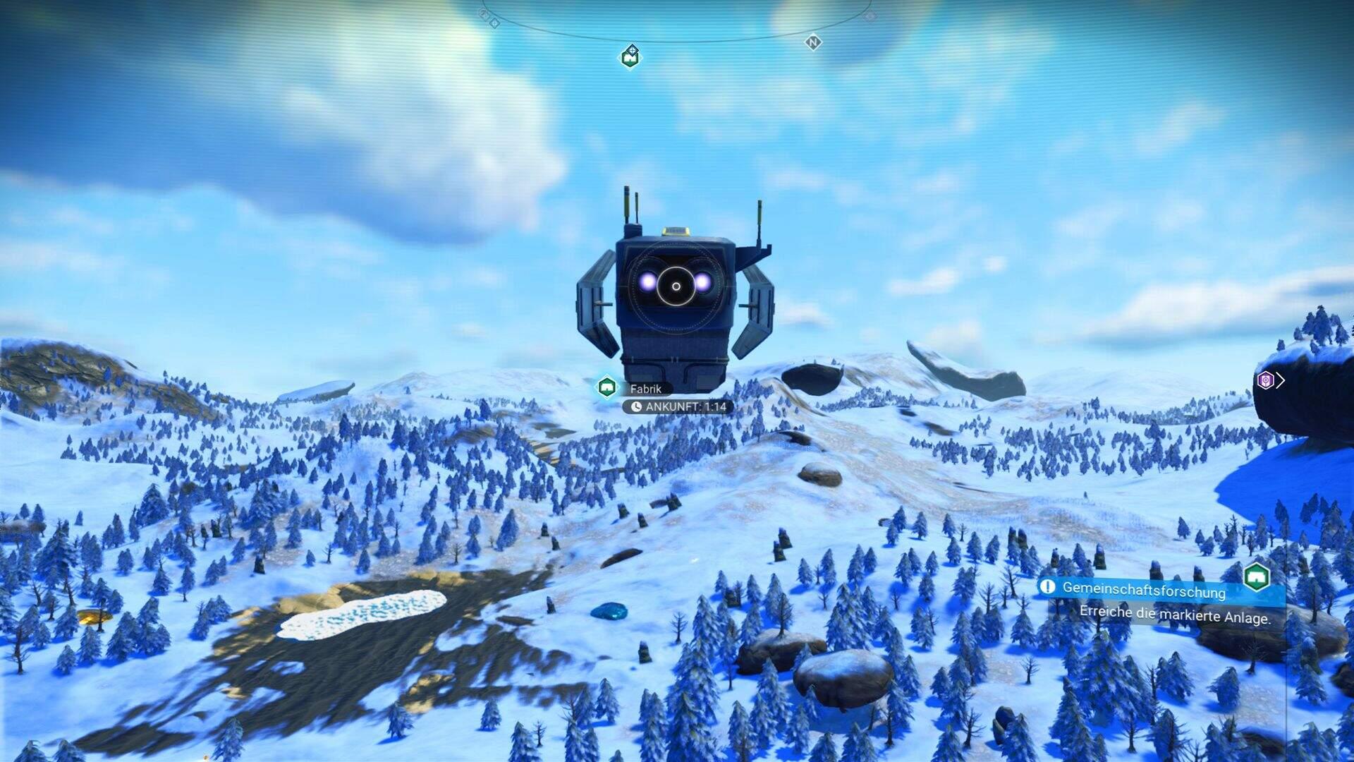 No Man's Sky Community Event Fabrik
