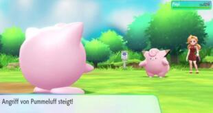 Pokémon: Let's Go, Evoli! und Pikachu! Screenshot