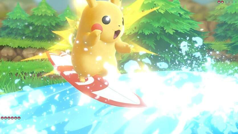 Pokémon: Let's Go, Evoli! und Pikachu! Screenshot