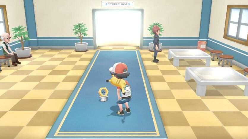 Pokémon Let's Go, Pikachu! und Evoli Meltan