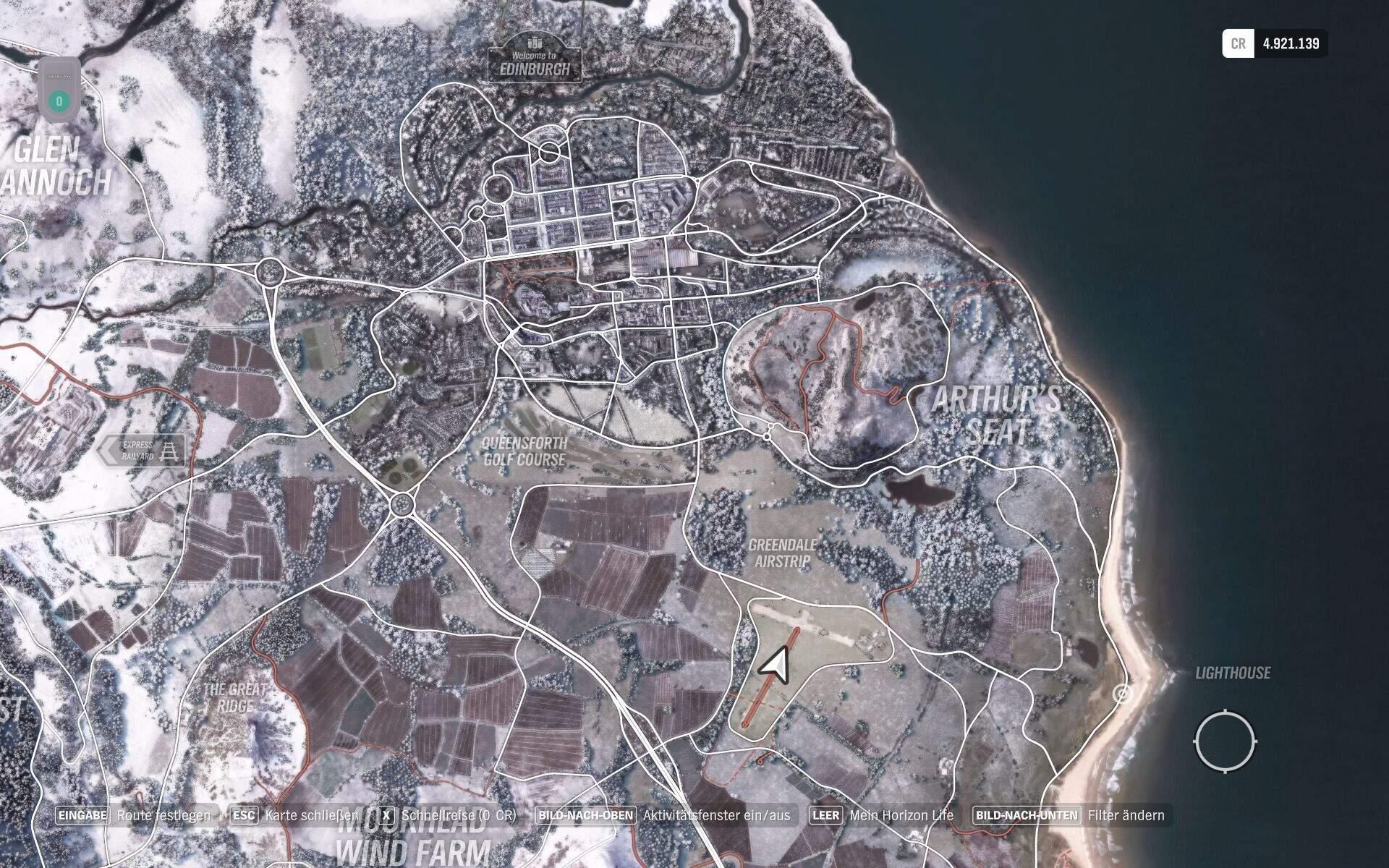 Forza Horizon 4 Flughafen Location