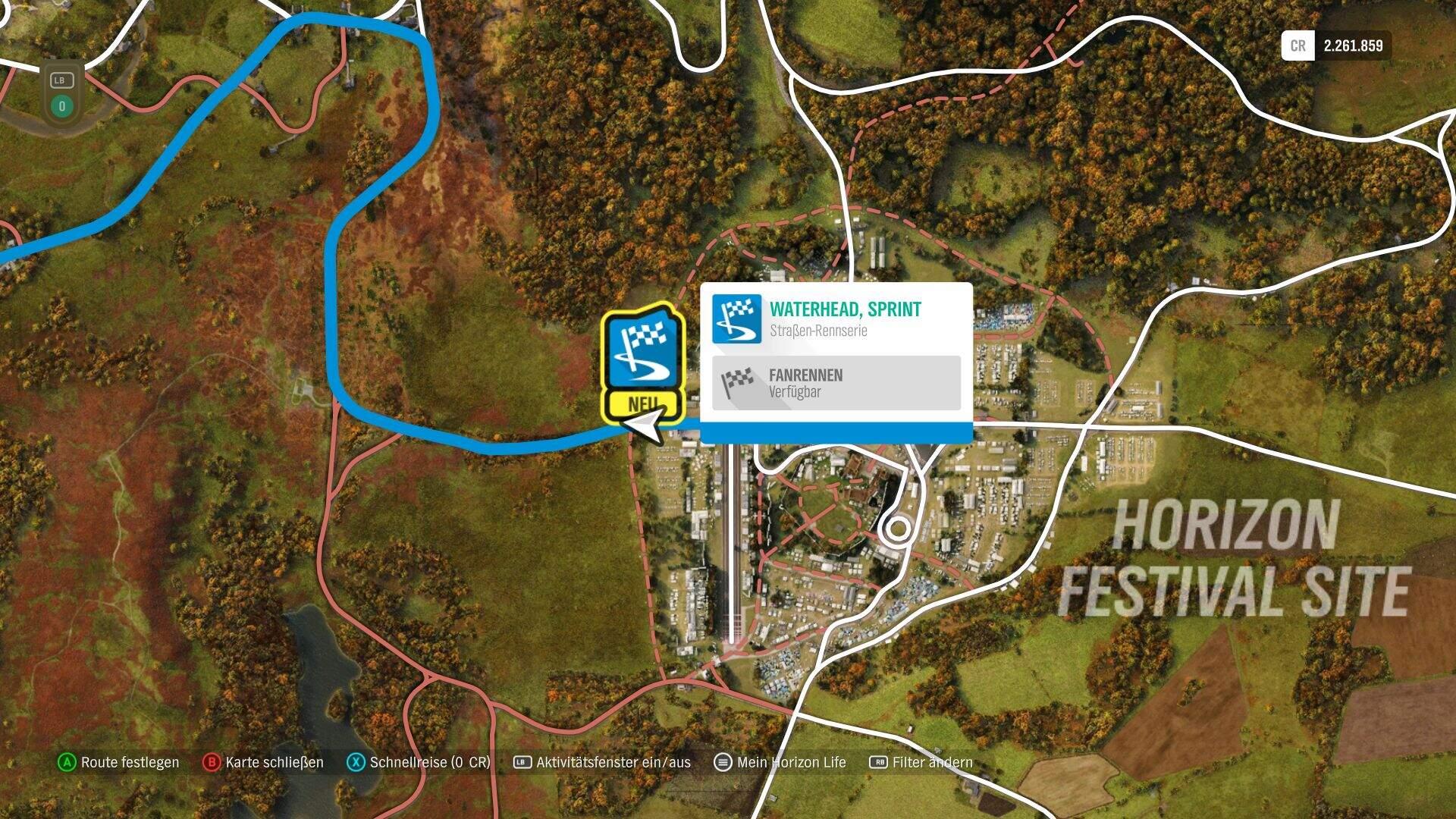 Forza Horizon 4 Forzathon KW 40 Sprintrennen