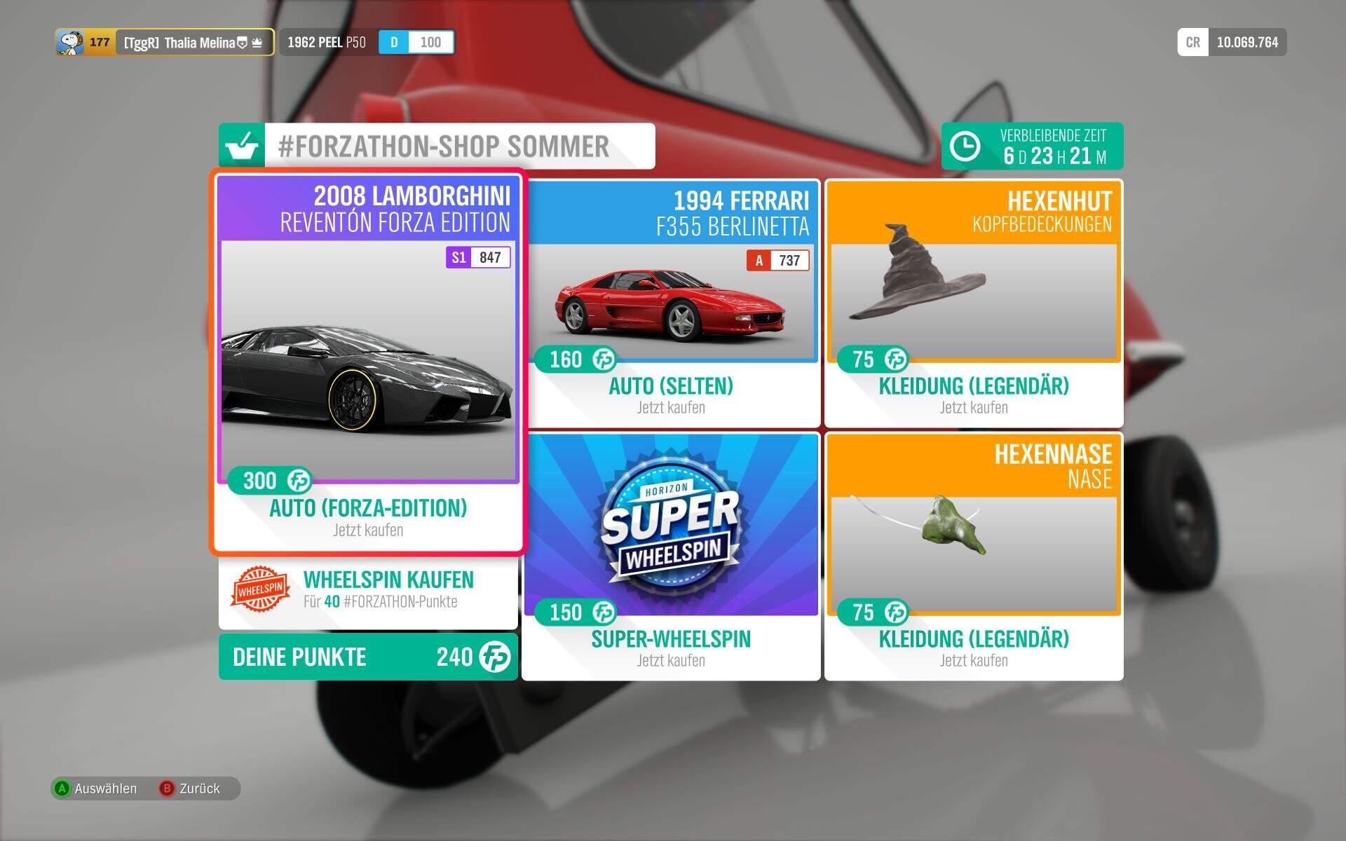 Forza Horizon 4 Forzathon-Shop KW 43