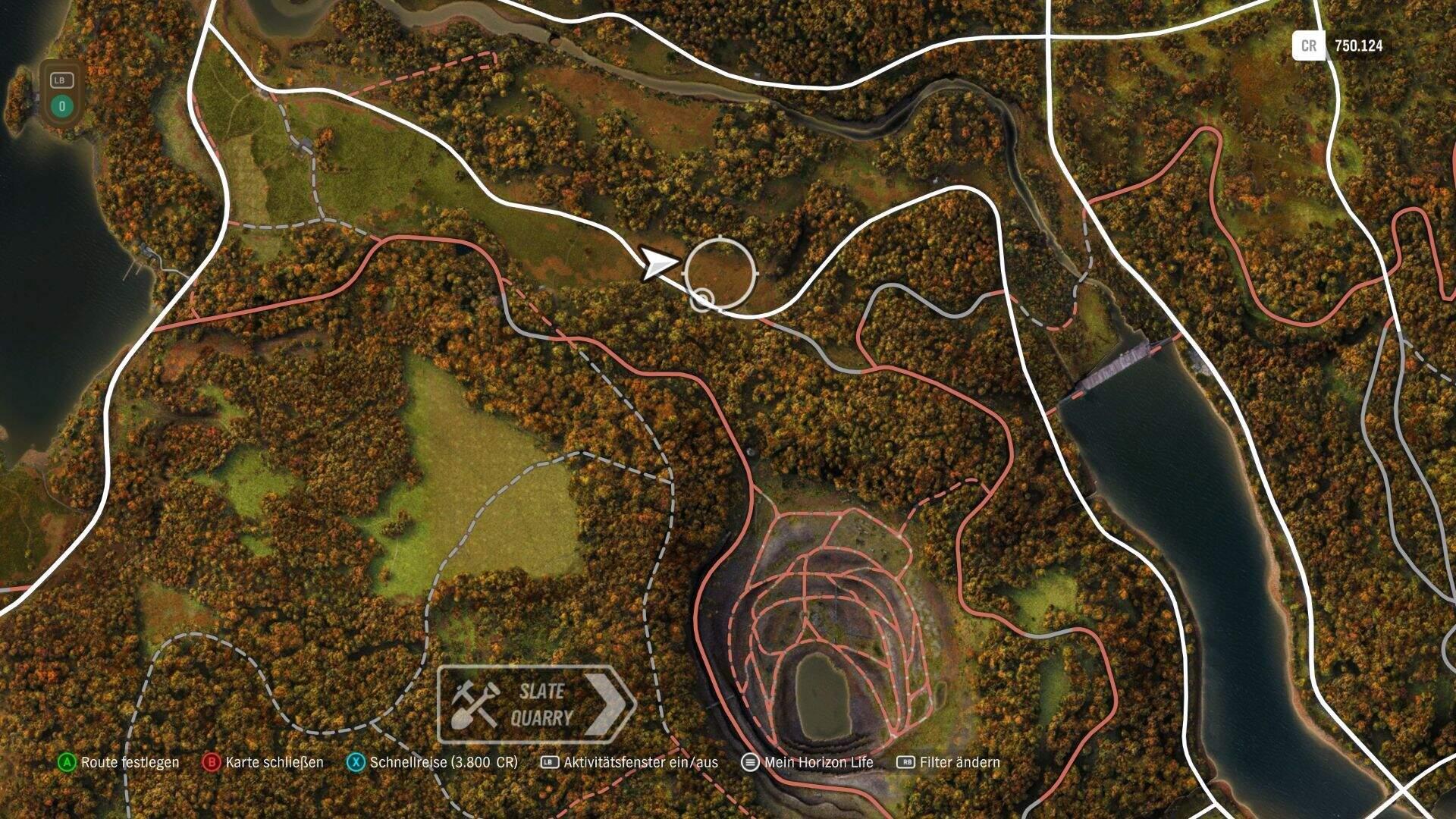 Forza Horizon 4 Holzfäller Fähigkeit Location