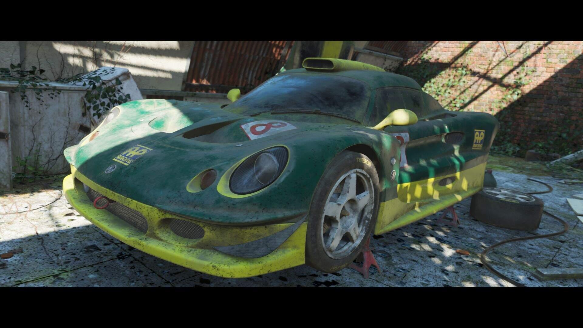 Forza Horizon4 1997 Lotus Elise GT1 Scheunenfund