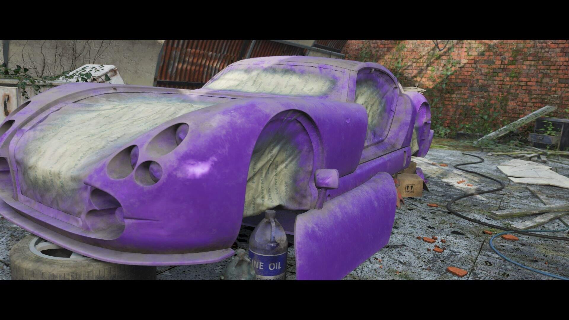 Forza Horizon 4 1998 TVR Cerbera Speed 12 Scheunenfund