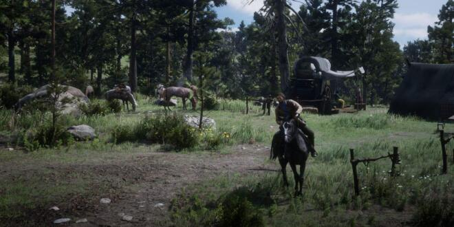 Red Dead Redemption 2 Schnellreise