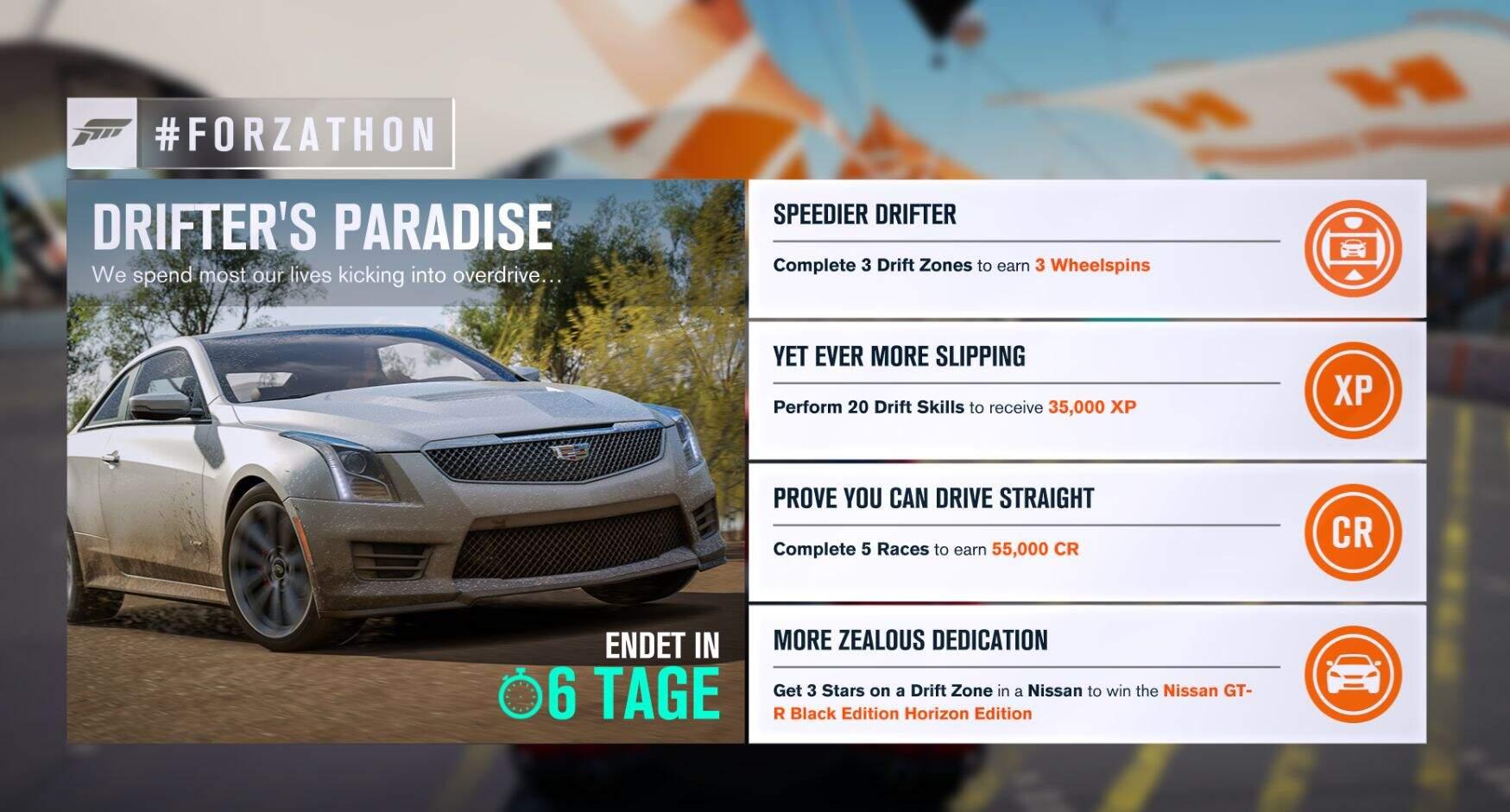 Forza Horizon 3 #Forzathon Guide KW 44 – Drifter's Paradise