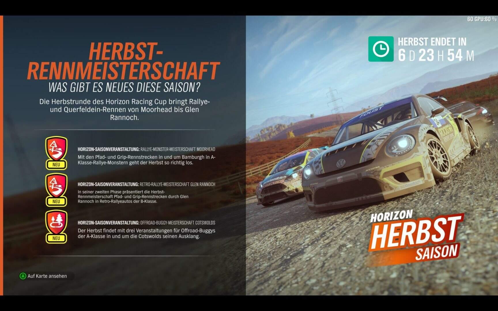 Forza Horizon 4 Herbst KW 48