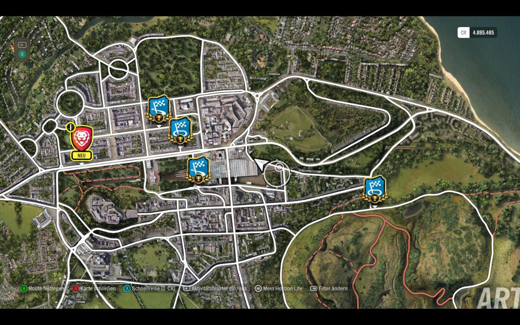 Forza Horizon 4 Drift-Berührung Fähigkeit Location