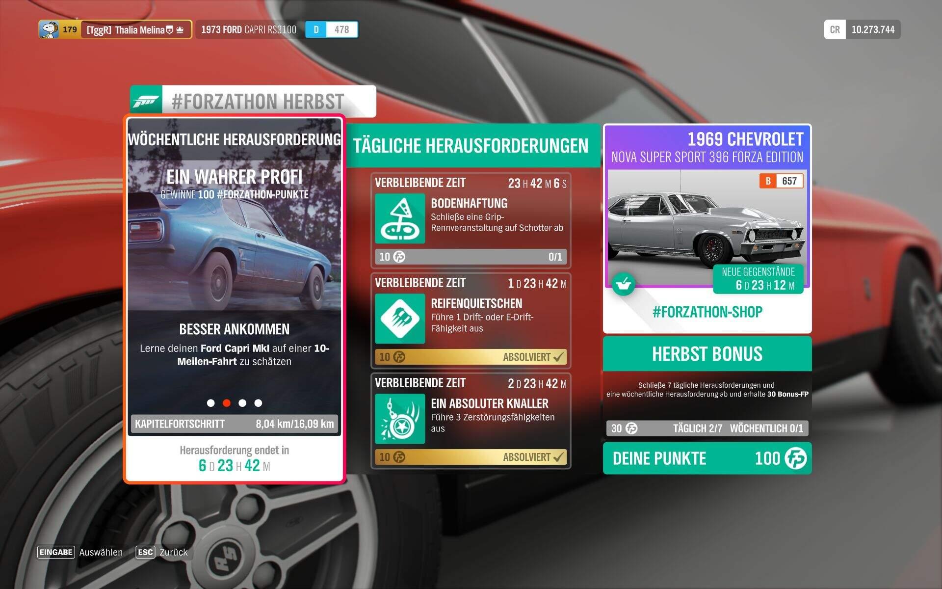 Forza Horizon 4 #Forzathon Guide KW 44 – Ein wahrer Profi