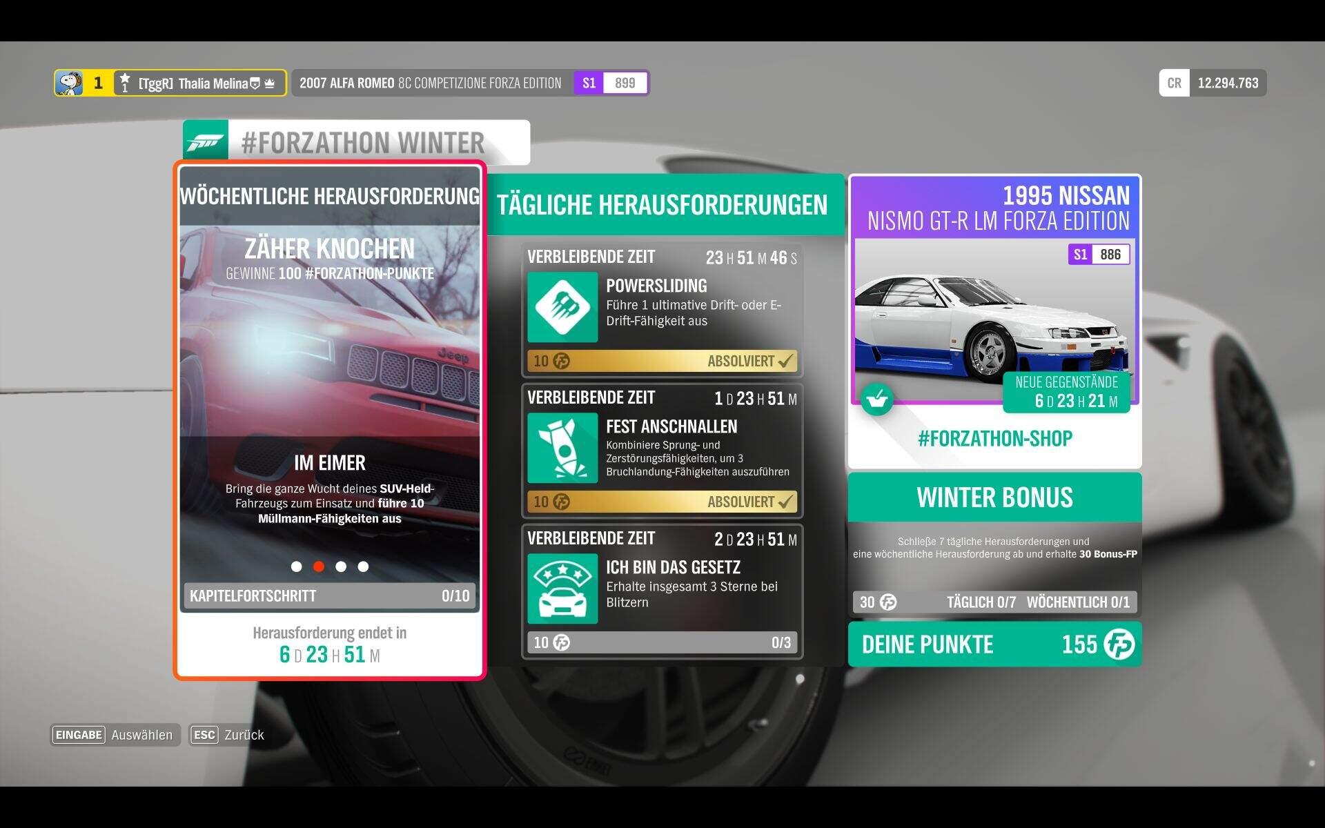 Forza Horizon 4 #Forzathon Guide KW 45 – Zäher Knochen