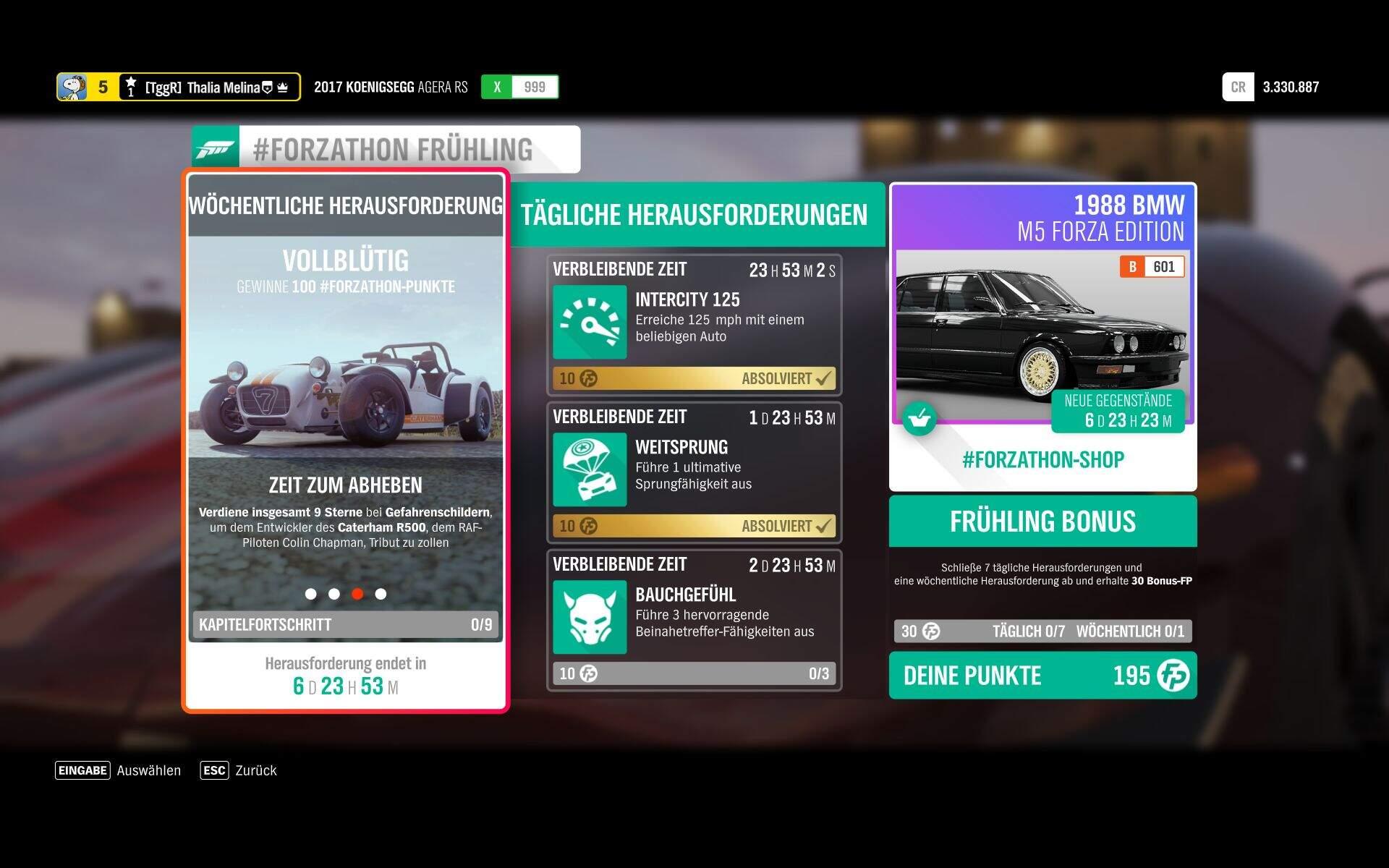 Forza Horizon 4 #Forzathon KW 46 – Vollblütig Aufgabe 3