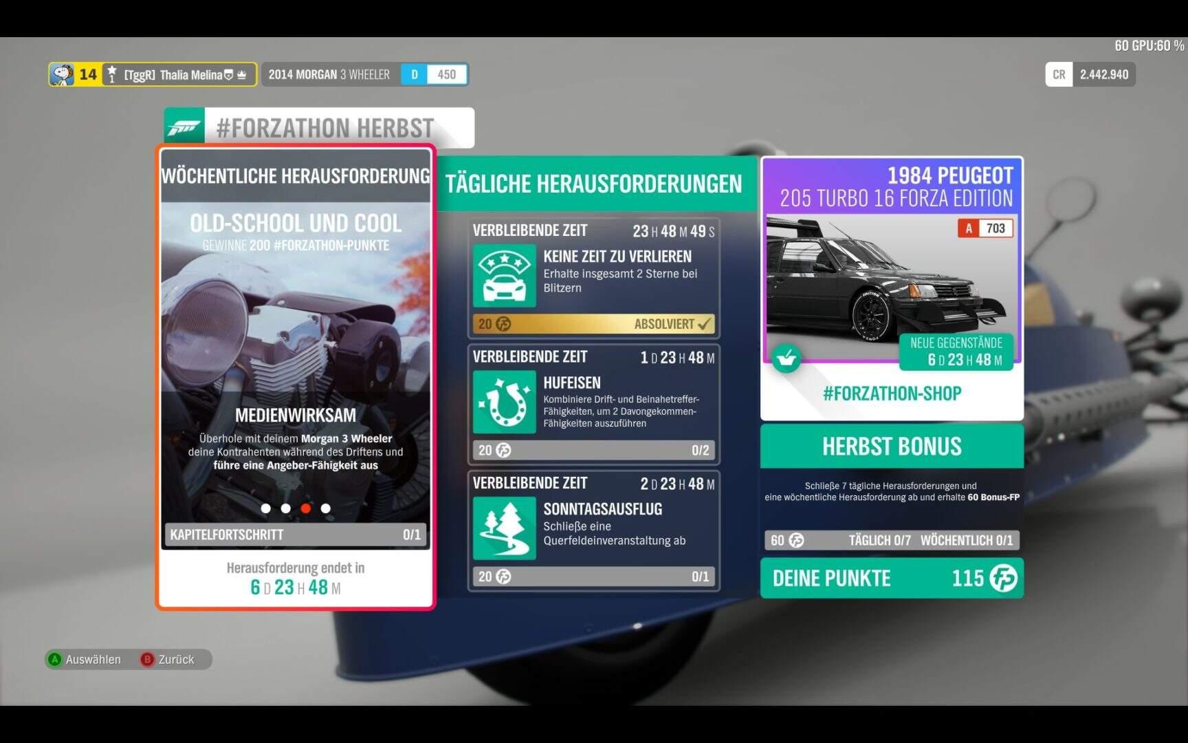 Forza Horizon 4 #Forzathon KW 48 Aufgabe 3