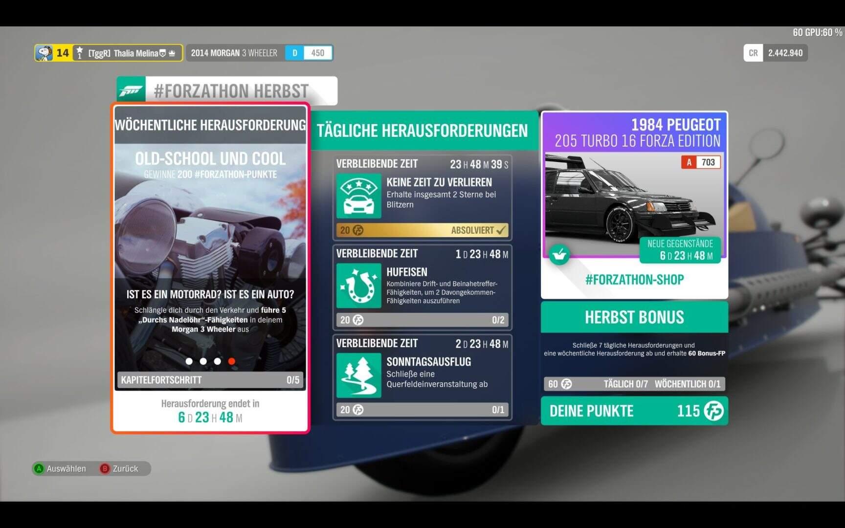 Forza Horizon 4 #Forzathon KW 48 Aufgabe 4