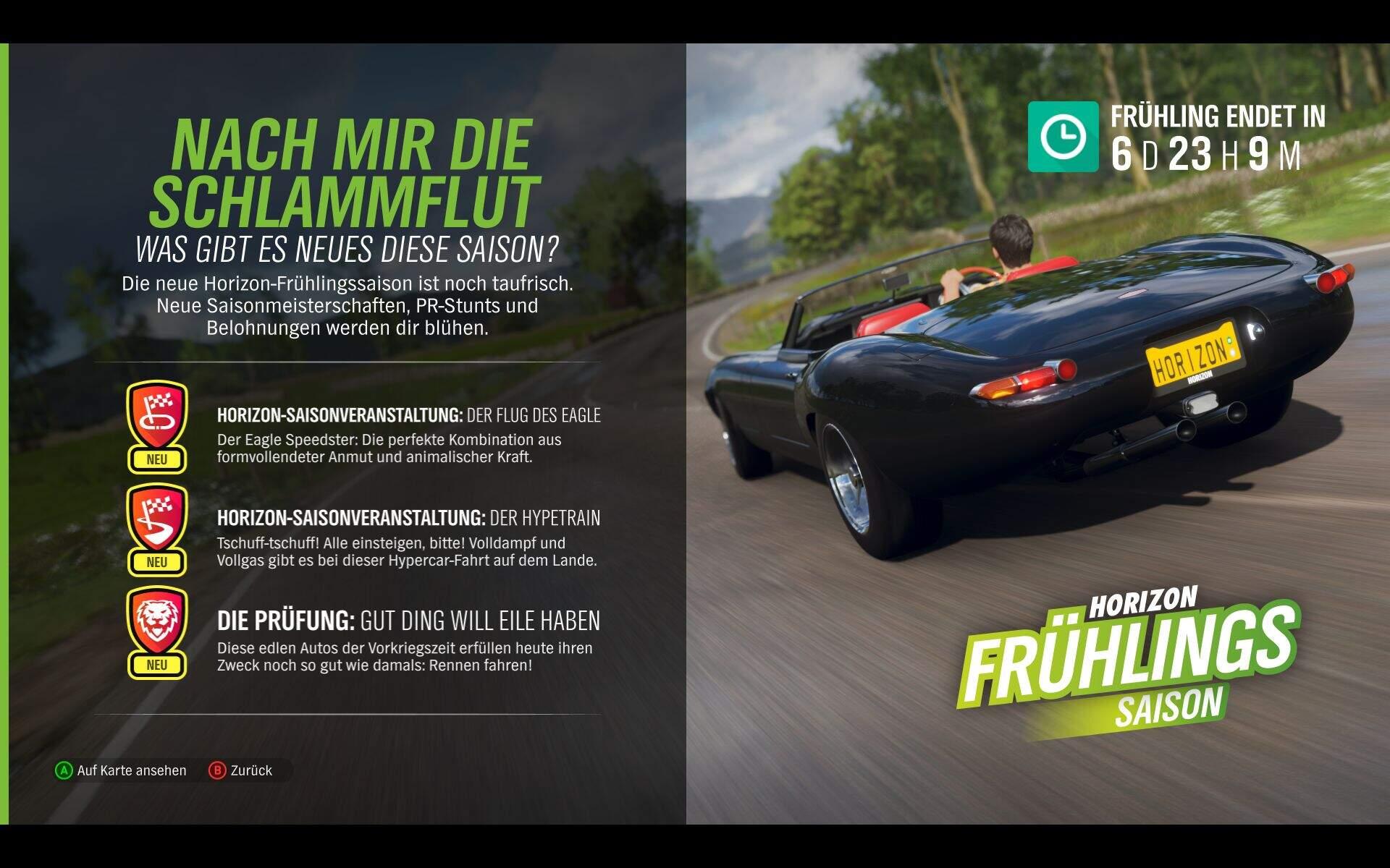 Forza Horizon 4 Frühling