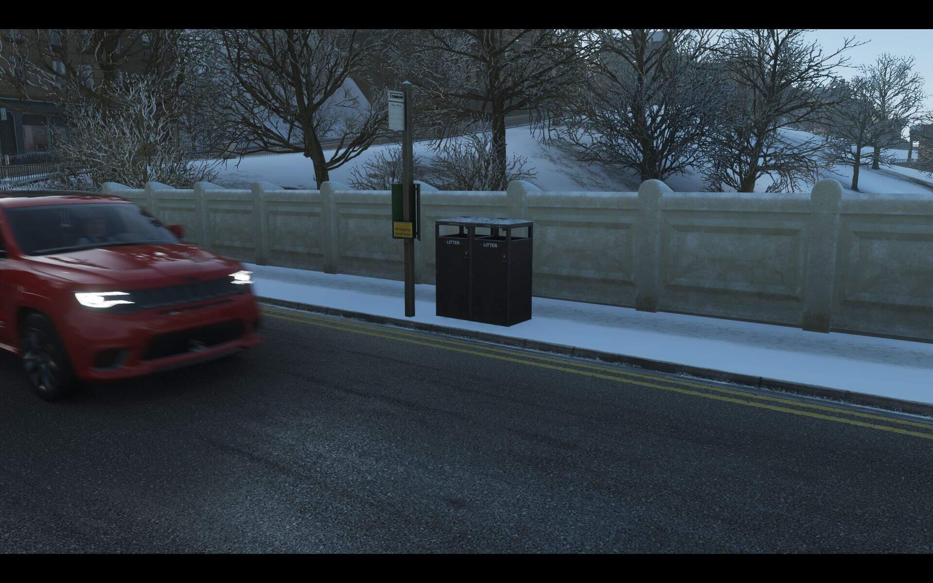 Forza Horizon 4 Mülleimer