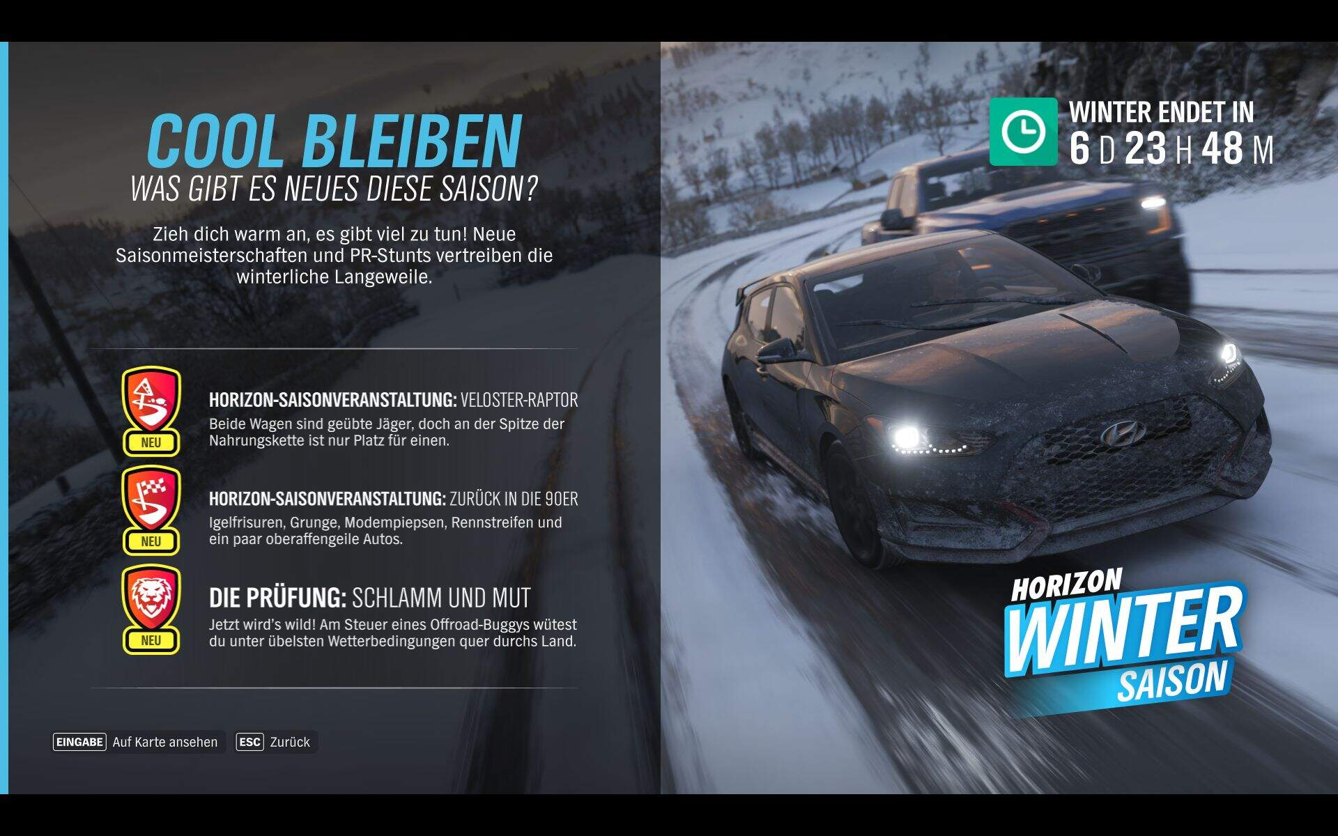 Forza Horizon 4 Winter KW 45