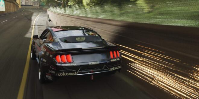 Forza Horizon 4 Drift-Berührung-Fähigkeit