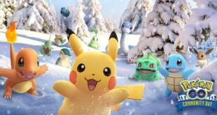 Pokémon GO Dezember Community Day
