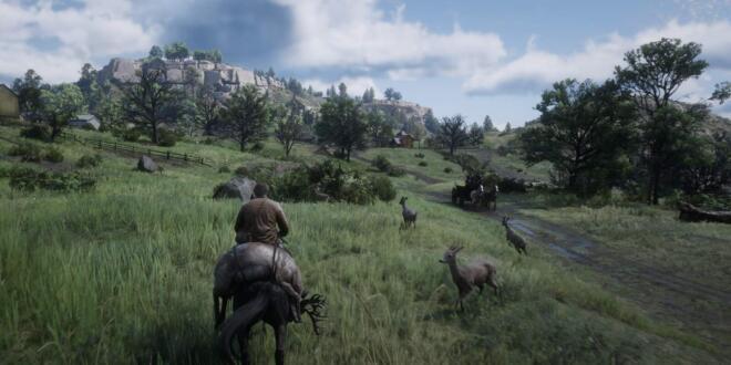 Red Dead Redemption 2 Jagd