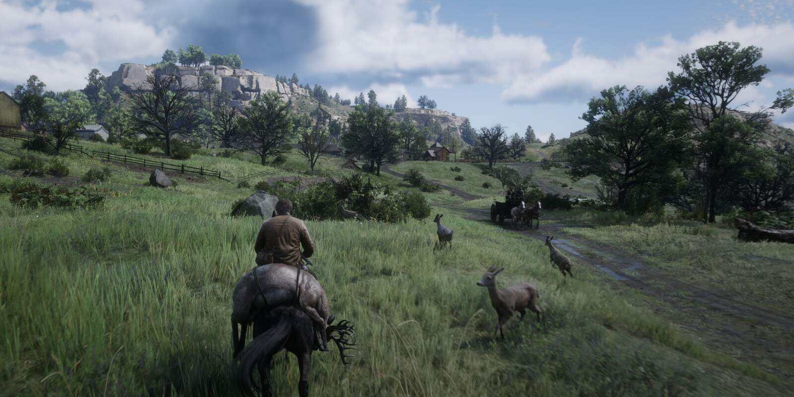 Red Dead Redemption 2 Jagd