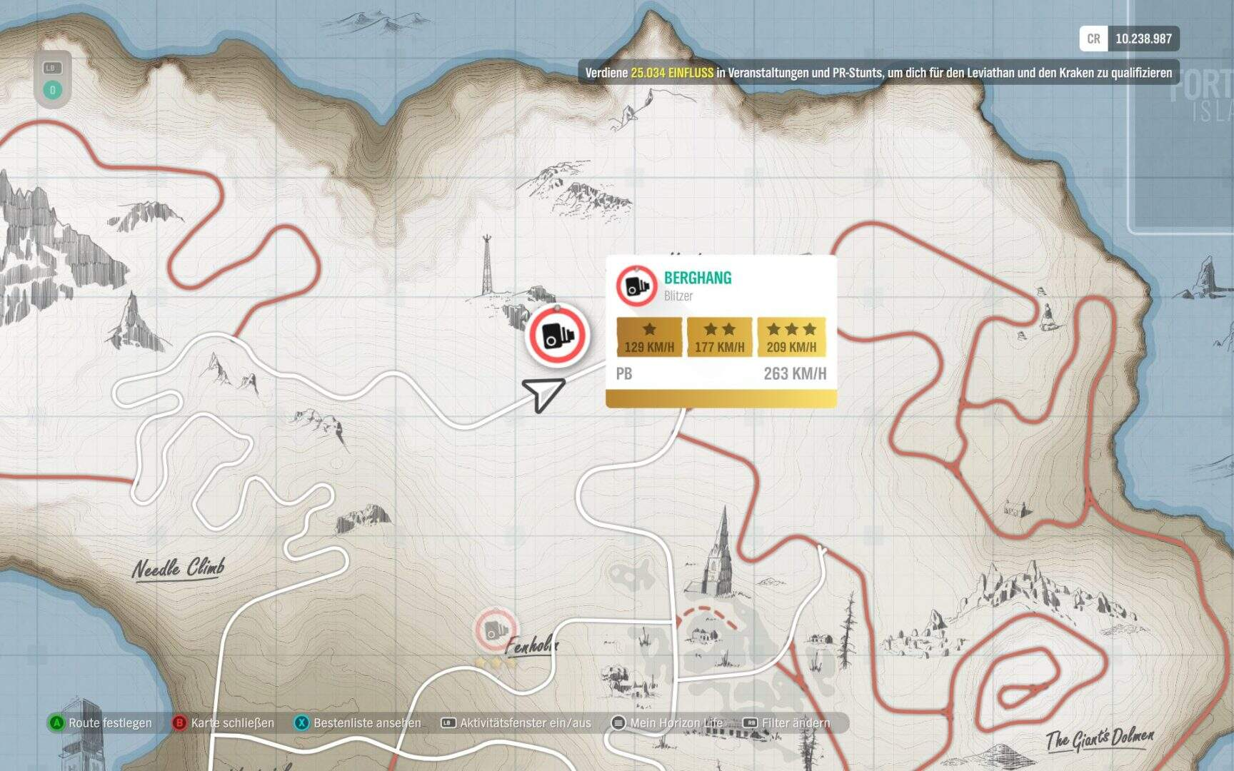 Forza Horizon 4 Fortune Island Berghang Blitzer